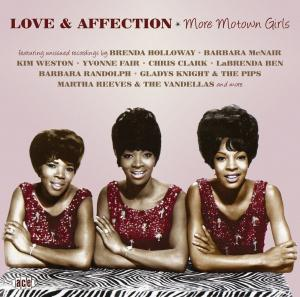 Love & Affection - More Motown Girls - Cover