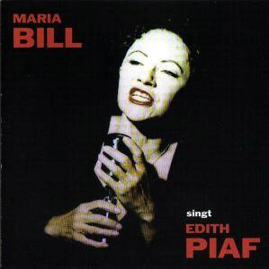 Cover - Maria Bill: Singt Edith Piaf