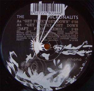 Cover - Micronauts, The: Get Funky Get Down