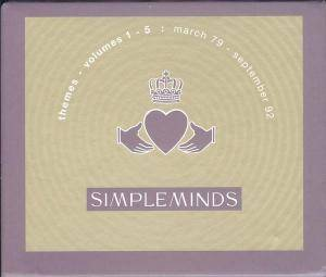 Cover - Simple Minds: Themes - Volume 1-5: March 79 - September 92