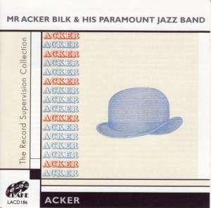 Mr. Acker Bilk & His Paramount Jazz Band: Acker - Cover
