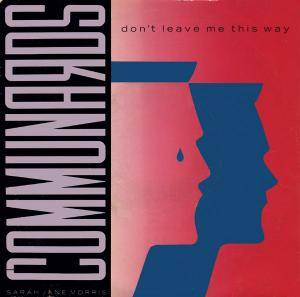 The Communards: Don't Leave Me This Way - Cover