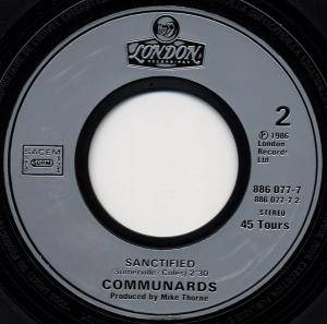 "The Communards: Don't Leave Me This Way (7"") - Bild 4"