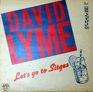 David Lyme: Let's Go To Sitges - Cover