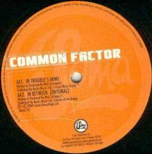 Cover - Common Factor: In Between