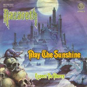 Nazareth: May The Sunshine - Cover