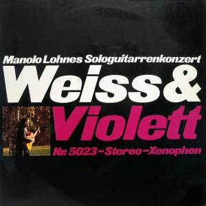 Cover - Manolo Lohnes: Weiss & Violett