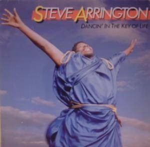 Steve Arrington: Dancin' In The Key Of Life - Cover