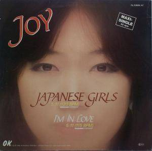 Joy: Japanese Girls - Cover
