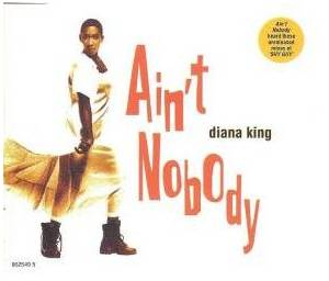 Diana King: Ain't Nobody - Cover