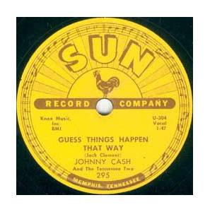 Cover - Johnny Cash And The Tennessee Two: Guess Things Happen That Way