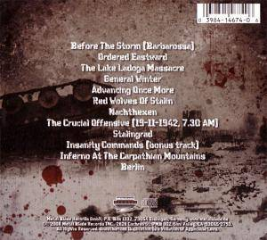 Hail Of Bullets: ...Of Frost And War (CD) - Bild 6