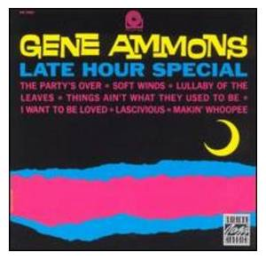 Gene Ammons: Late Hour Special - Cover