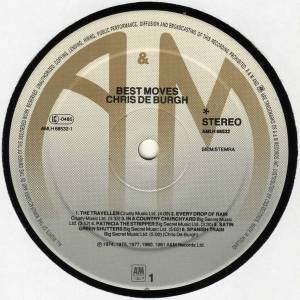 Chris de Burgh: Best Moves (LP) - Bild 5