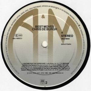 Chris de Burgh: Best Moves (LP) - Bild 6