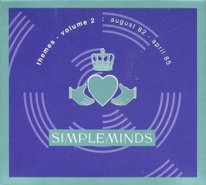 Simple Minds: Themes - Volume 2: August 82 - April 85 - Cover