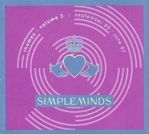 Cover - Simple Minds: Themes - Volume 3: September 85 - June 87