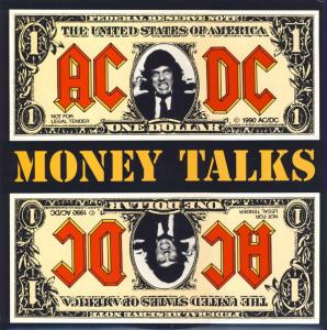 AC/DC: Money Talks - Cover