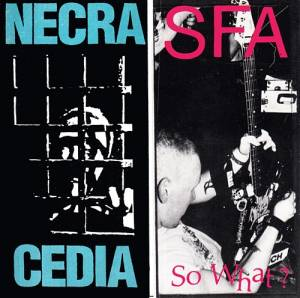 Cover - S.F.A.: So What / Now I See Clearly