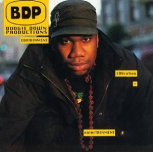 Boogie Down Productions: Edutainment - Cover
