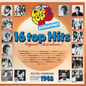 Club Top 13 - 16 Top Hits - September / Oktober 1983 - Cover