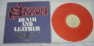 Saxon: Denim And Leather (LP) - Bild 2
