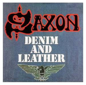 Saxon: Denim And Leather (LP) - Bild 1