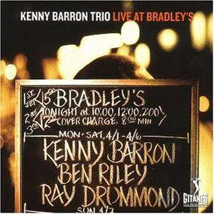 Cover - Kenny Barron: Live At Bradley's