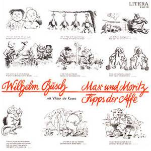 Max Und Moritz / Fipps Der Affe | LP (1968) von Wilhelm Busch