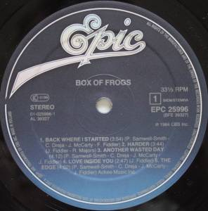 Box Of Frogs: Box Of Frogs (LP) - Bild 3