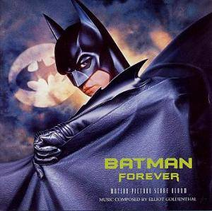 Cover - Elliot Goldenthal: Batman Forever