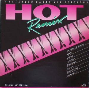 Hot Remix - 16 Extended Dance Mix Versions - Cover
