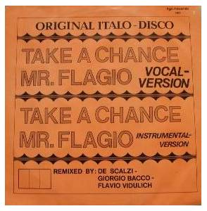 Mr. Flagio: Take A Chance - Cover
