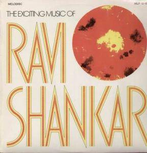 Cover - Ravi Shankar: Exciting Music Of Ravi Shankar, The