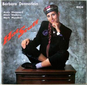 Cover - Barbara Dennerlein: Hot Stuff