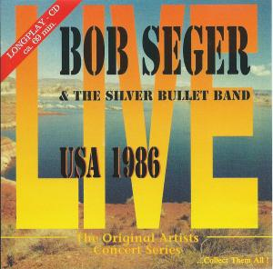 Bob Seger & The Silver Bullet Band: USA 1986 - Cover