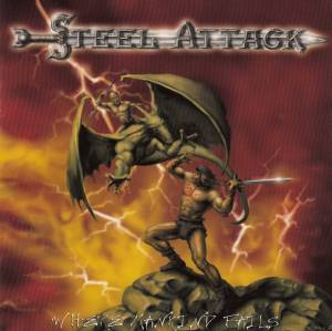 Steel Attack: Where Mankind Fails - Cover