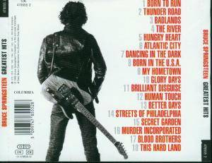 Bruce Springsteen: Greatest Hits (CD) - Bild 2