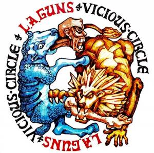 L.A. Guns: Vicious Circle - Cover