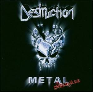 Destruction: Metal Discharge - Cover