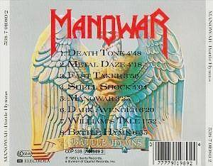 Manowar: Battle Hymns (CD) - Bild 2