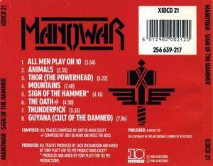 Manowar: Sign Of The Hammer (CD) - Bild 2