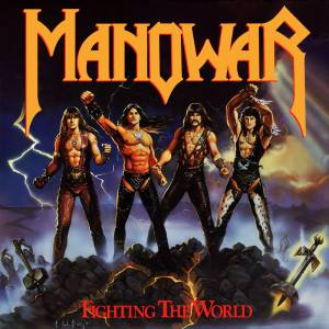 Cover - Manowar: Fighting The World