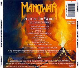 Manowar: Fighting The World (CD) - Bild 2
