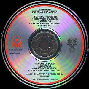 Manowar: Fighting The World (CD) - Bild 4
