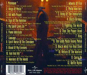 Manowar: Hell On Wheels (2-CD) - Bild 2