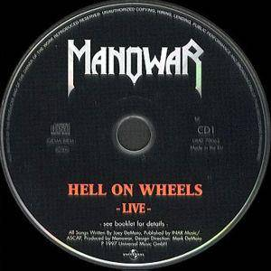 Manowar: Hell On Wheels (2-CD) - Bild 3