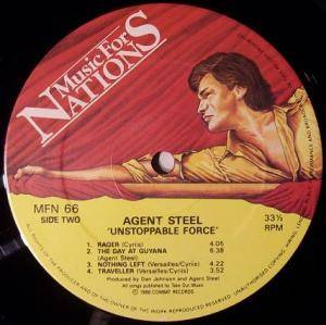 Agent Steel: Unstoppable Force (LP) - Bild 6