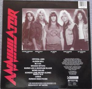 Annihilator: Alice In Hell (LP) - Bild 2