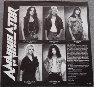 Annihilator: Alice In Hell (LP) - Bild 3